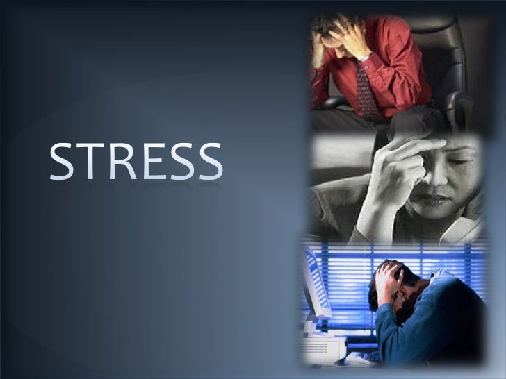 Stress is a state of bodily or mentaltension resulting from factors that tendto alter an existent equilibrium. Stress isan...