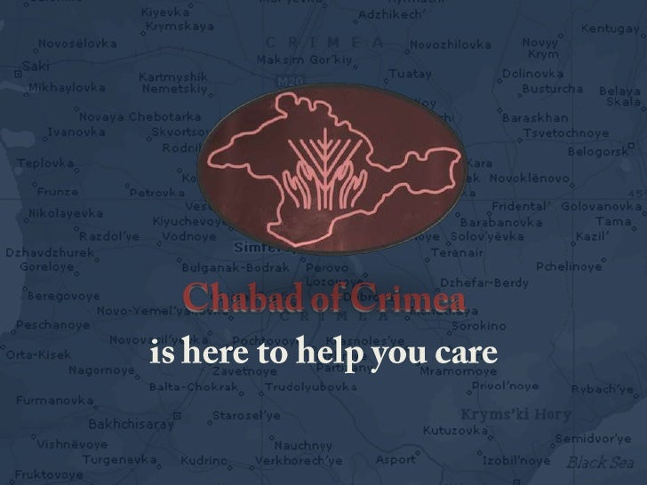 Chabad of Crimea <br />is here to help you care<br />