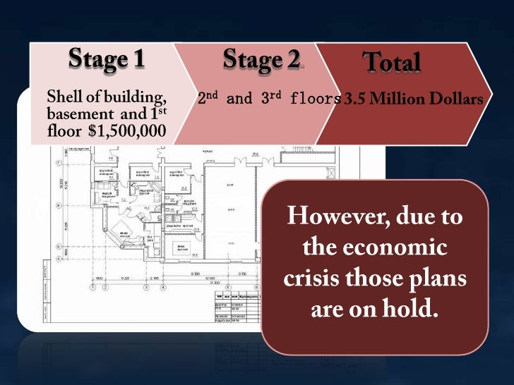 Stage 1Shell of building, basement and 1st floor $1,500,000<br /><br />Stage 2asdf<br />ad2nd and 3rd floors<br /><br ...