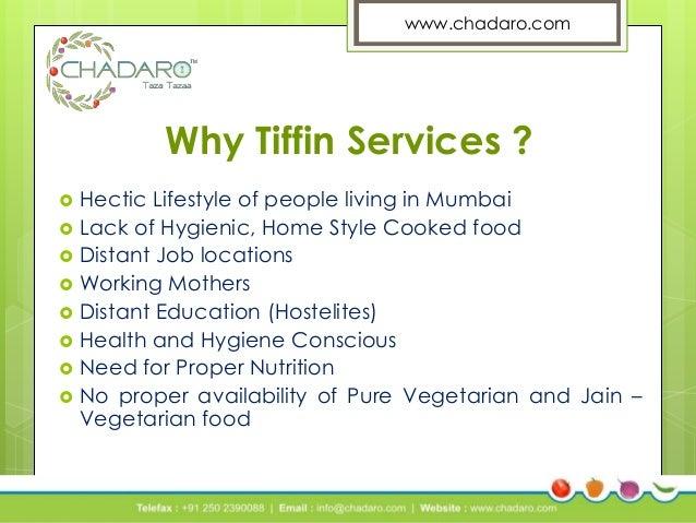 Marketing Profile Of Chadaro Tiffin Service In Mumbai