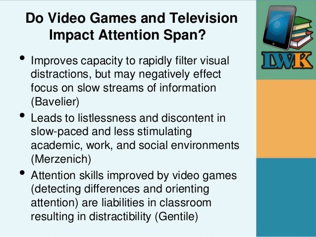 Do Television And Video Games Impact >> The Use And Impact Of Video Games And Digital Media For Children With
