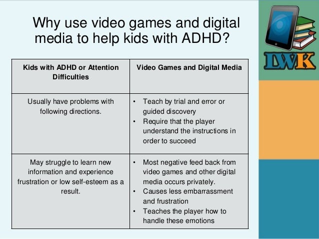 how video games affect kids First, there is no evidence whatsoever that tv or video games cause adhd, explains dr natalie weder, a child and adolescent psychiatrist at the child mind institute who has treated many kids with the disorder that said, super-fast-paced tv shows and video games do have a special appeal for kids who have adhd.