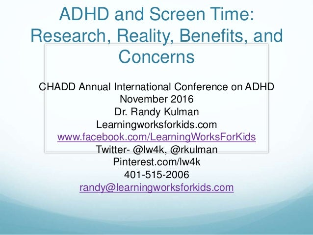 Understanding Benefits Of Adhd >> Adhd And Screen Time Research Reality Benefits And