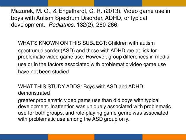 • WHAT'S KNOWN ON THIS SUBJECT: Concerns as well as hopes regarding electronic games have led researchers to study the inf...