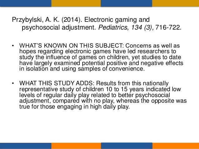 """• """"Electronic games might best be thought of as a new variety of toys offering a range of distinct play experiences and no..."""
