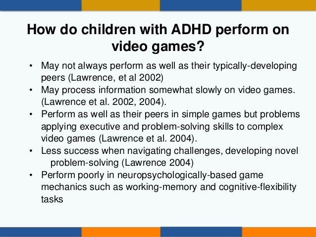 Violent Video Games Cause Behavior Problems CHADD 2014 Should Chil...