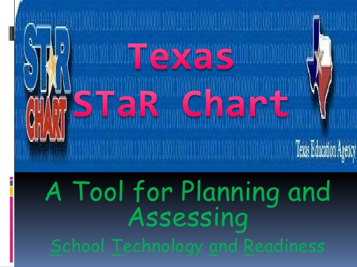 Texas <br />STaR Chart<br />A Tool for Planning and Assessing<br />School Technology and Readiness<br />
