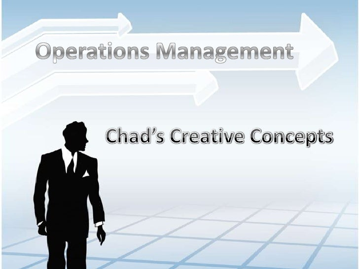 """case chad s creative concepts solution Creative approaches to problem solving 1 the purpose of this chapter is to describe what we mean by """"creative approaches to let's examine the core concepts."""