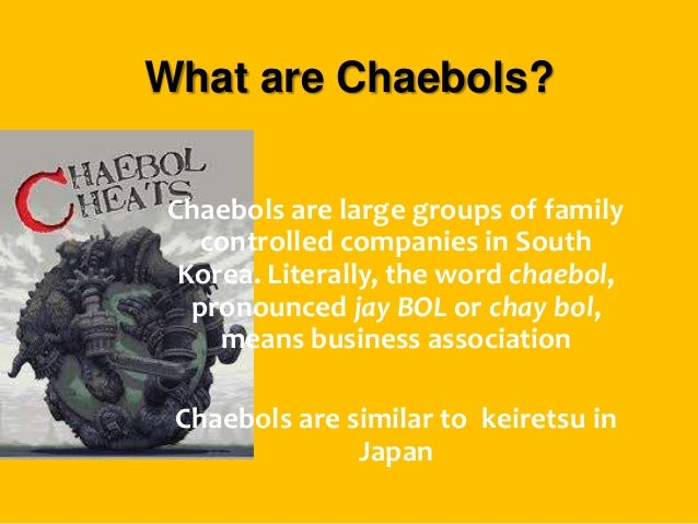 Image result for chaebol