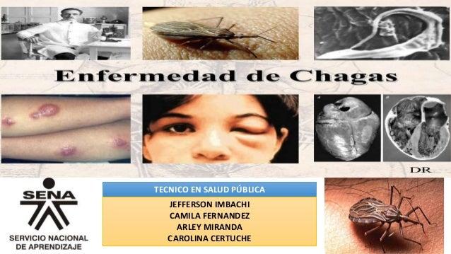 CHAGAS TECNICO EN SALUD PÚBLICA JEFFERSON IMBACHI CAMILA FERNANDEZ ARLEY MIRANDA CAROLINA CERTUCHE