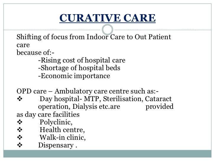 CHANGING ROLE OF HOSPITAL<br />HOSPITAL<br />PRIMERY ROLE<br />CHANGING ROLE<br />Curative <br />Services<br />INTERNAL<b...