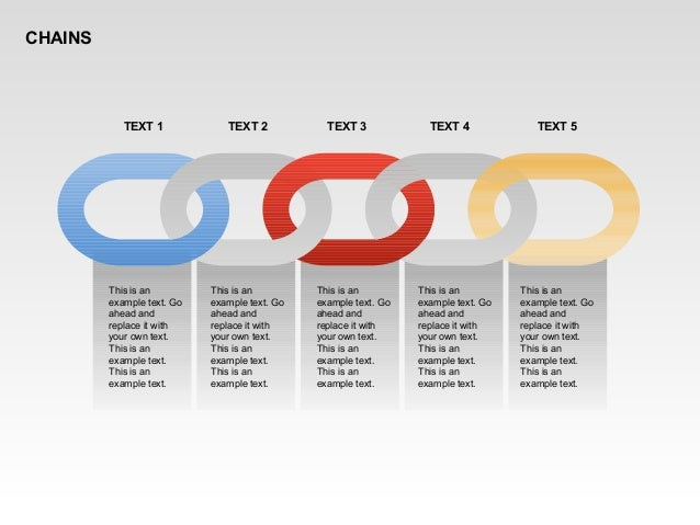 CHAINS This is an example text. Go ahead and replace it with your own text. This is an example text. This is an example te...