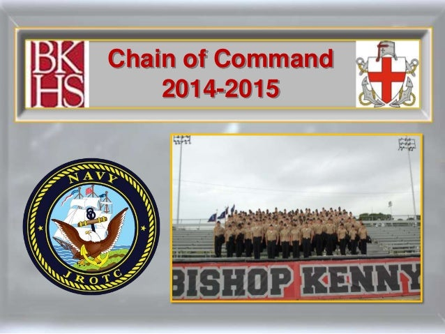 Chain of Command 2014-2015