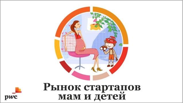 Инфографика рынка продуктов для мам и детей