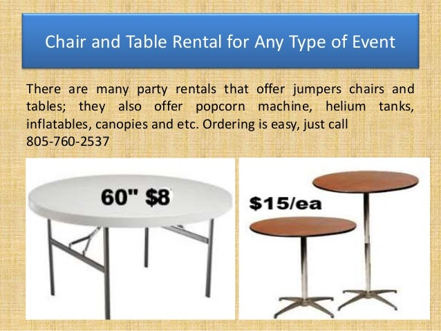 Types of chairs for events different types event chairs for Different types of tables in html