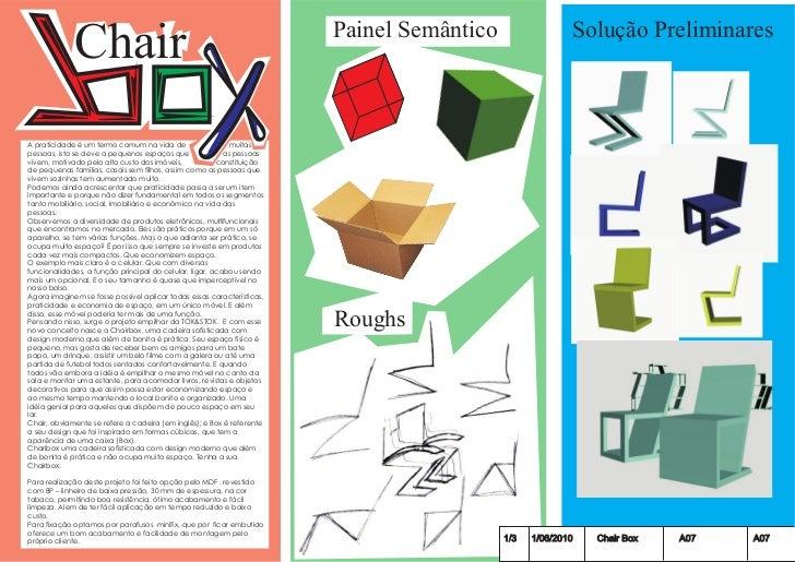 Chair                                                      Painel Semântico                 Solução PreliminaresA praticid...