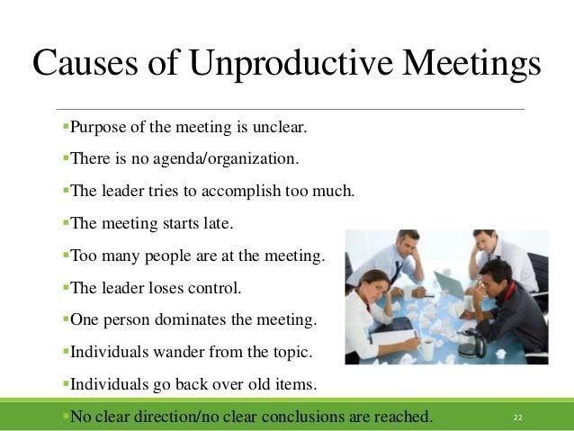 chairing meetings successfully