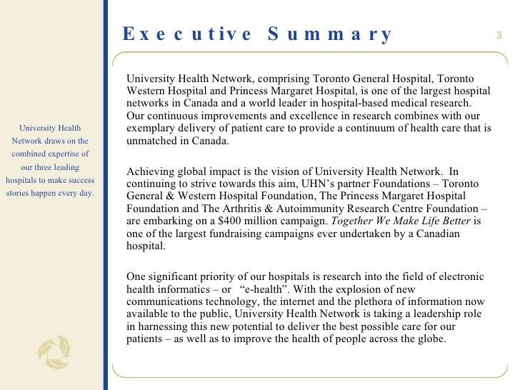 healthcare executive summary template vatoz atozdevelopment co