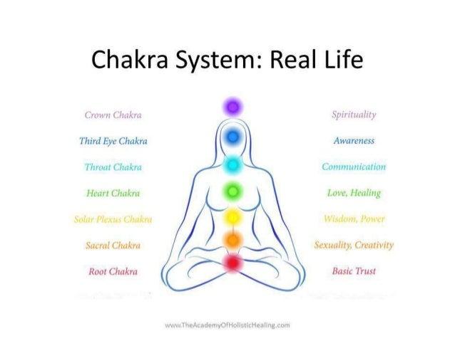 Chakra System: Real Life  www.TheAcademyOfHolisticHealing.com