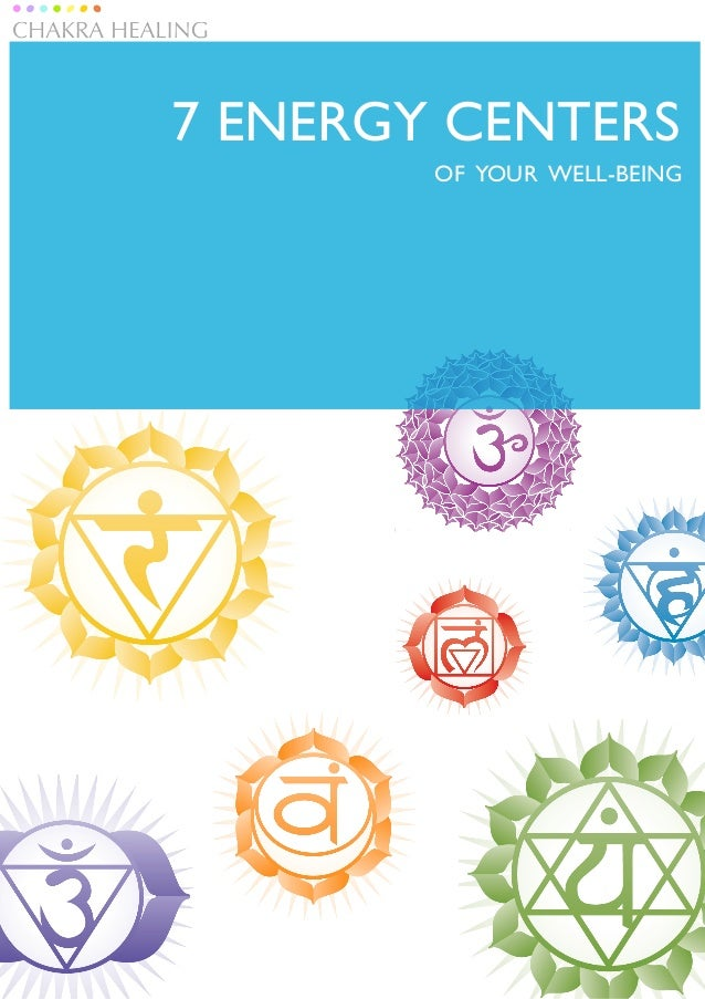 7 ENERGY CENTERS        OF YOUR WELL-BEING