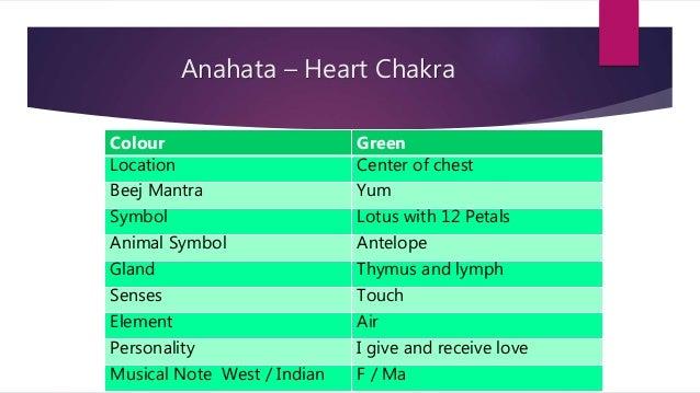 Seven Main Chakras & Yoga