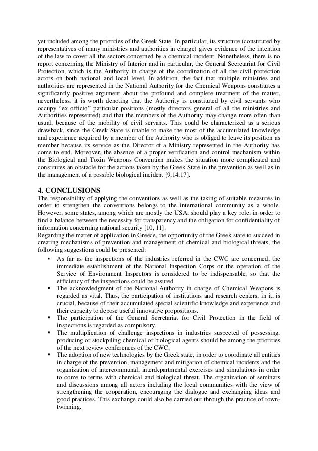 convention on prohibition of biological weapons essay Big story by dilyana gaytandzhieva, special report for natural blaze the us army regularly produces deadly viruses, bacteria and toxins in direct violation of the un convention on the prohibition of biological weapons.