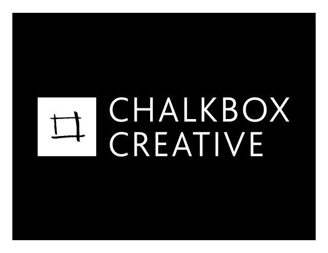 Chalkbox Creative / June, 07 Slide 2