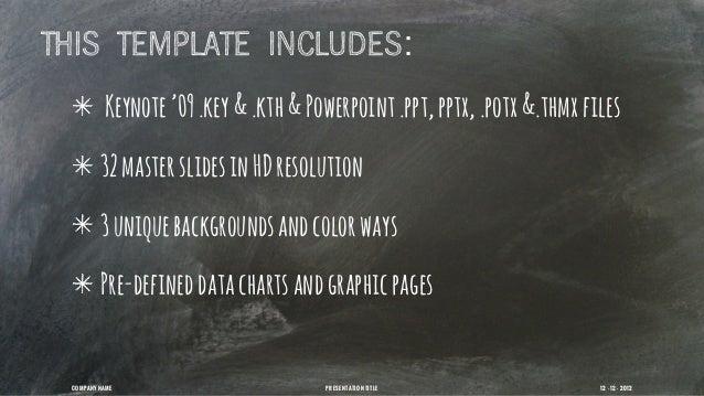 Chalk dust presentation template toneelgroepblik Images