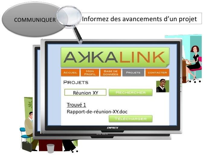 AkkaLink Slide 3