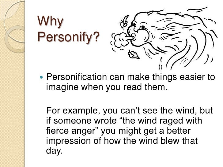 personification in poetry presentation 4 whypersonify  personification