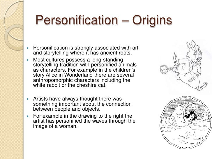 personification in poetry presentation personification