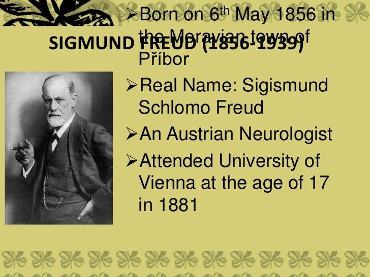 sigmund freud psychology
