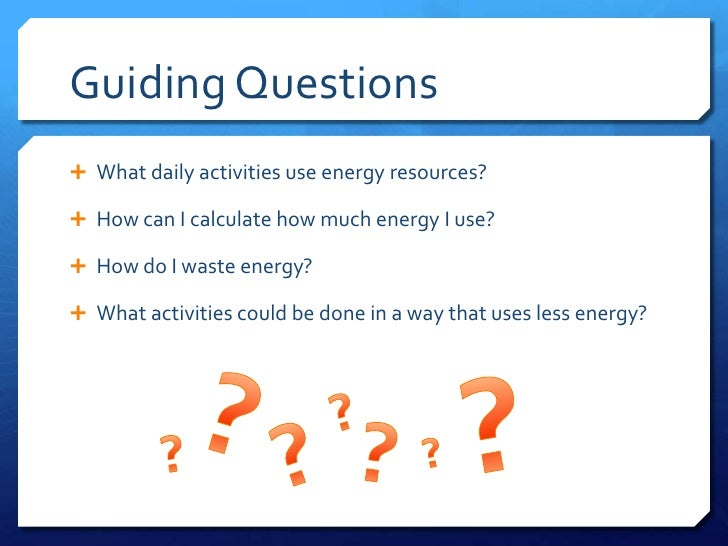 Energy Hog Game : Challenge based learning step by