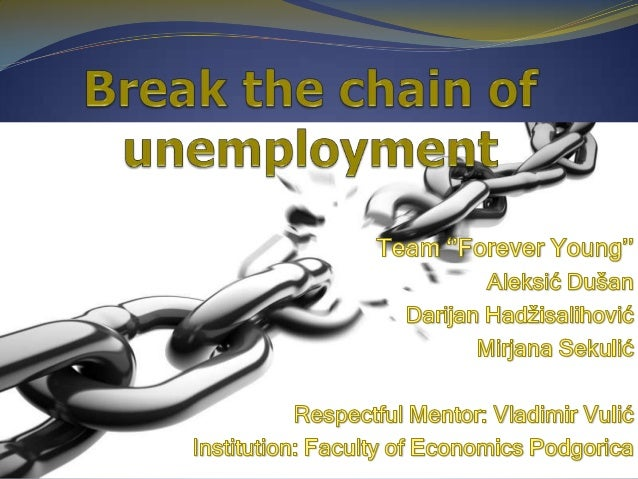 The Defeating Unemployment              data According to the survey realized by  statistic office Monstat for the region...