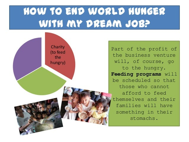 preventing future world hunger essay A profound change of the global food and agriculture system is needed if we are   hunger and ensuring that the world can produce enough food to meet future.