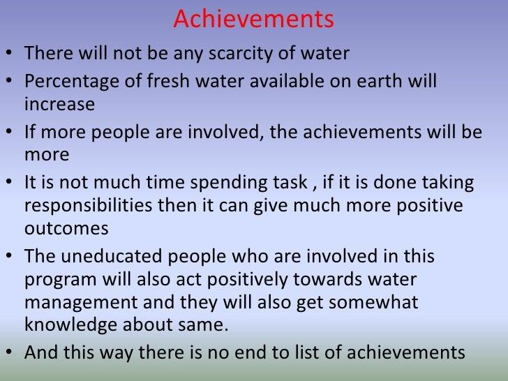 [Challenge:Future] Save Water Save Life Slide 3