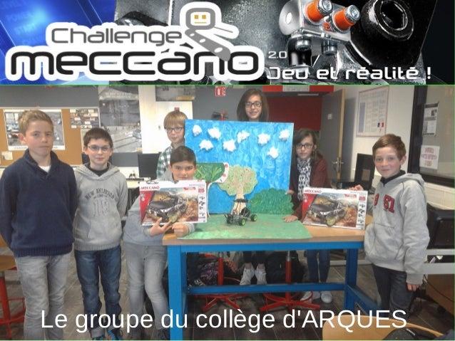 Le groupe du collège d'ARQUES