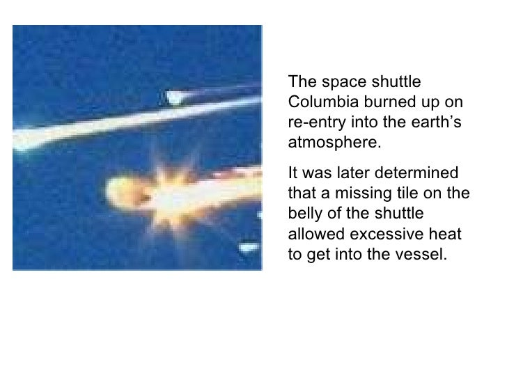 space shuttle re entry heat - photo #45
