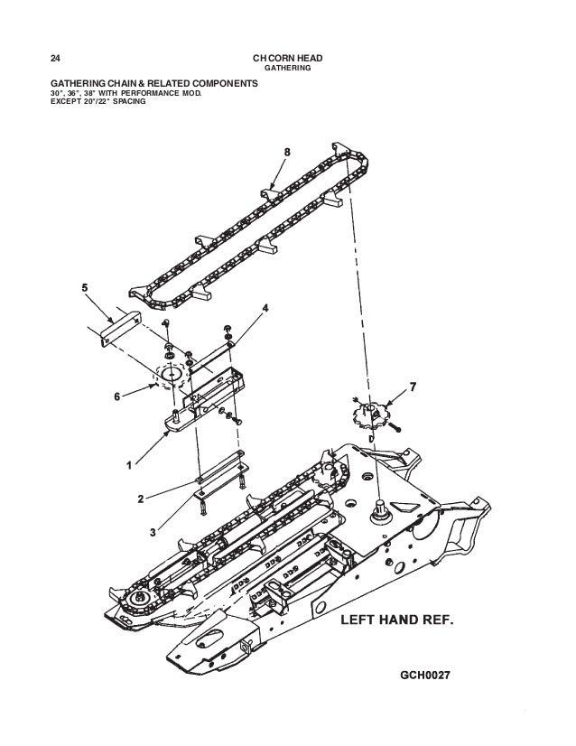 Challenger corn head parts manual