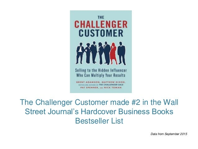 What We Learned Working With The Challenger Customer By Ceb