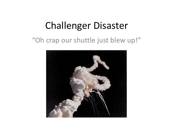 Essay/Term paper: The tragic challenger explosion