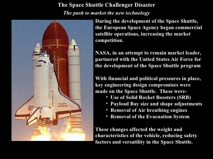 an analysis of the effect of the space shuttle challenger An in-depth analysis of the challenger mission sts-51l tragedy which includes a detailed description of what caused the accident and what nasa learned about the accident that made future.