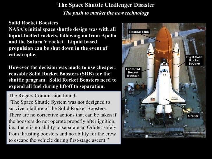 space shuttle challenger court case study