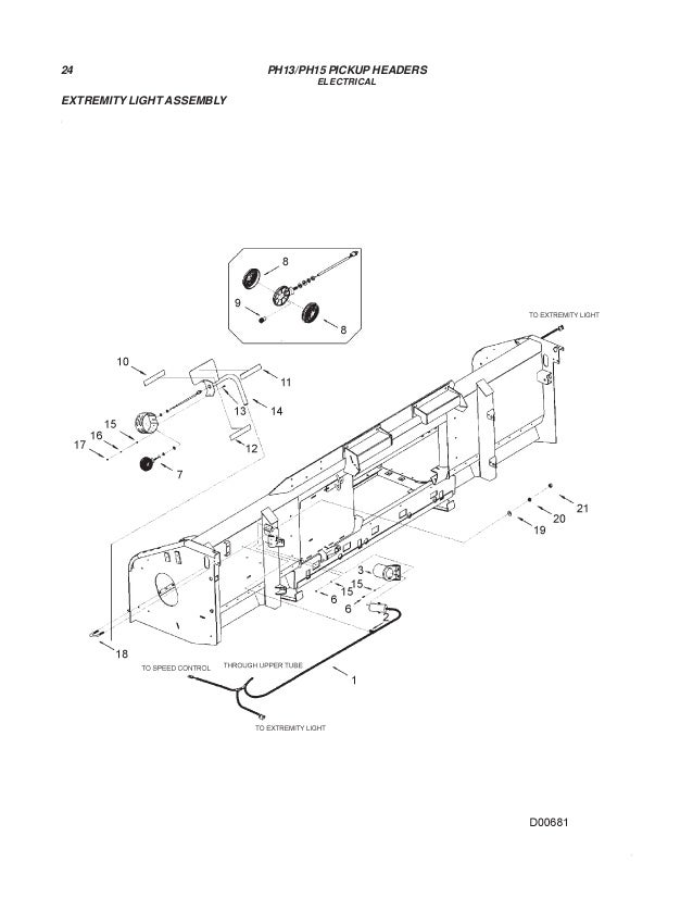 Challenger Ph13 Ph15 Pickup Headers Parts Manual