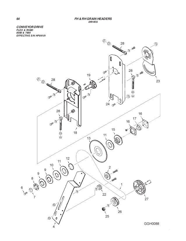 Challenger Rhfh Grain Headers Parts Manual