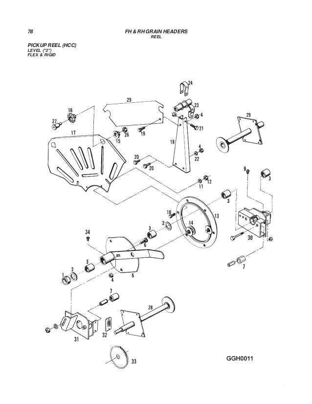 Challenger Rhfh Grain Headers Parts Manual