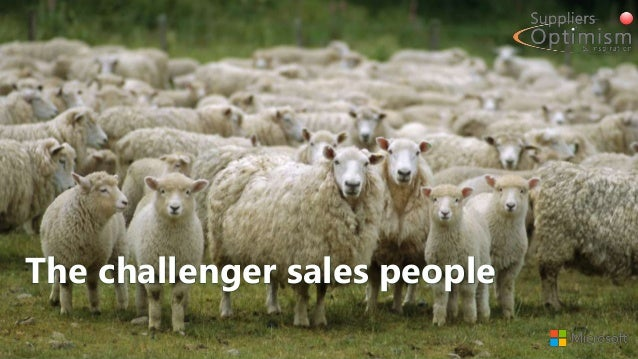 The challenger sales people
