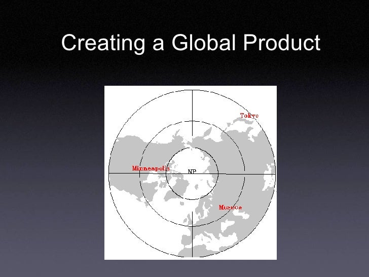 Creating a Global Product