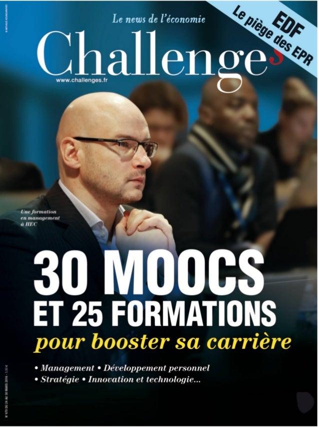 44 b CHALLENGES N°470 - 24 MARS 2016 F ini, le temps où, pour être un bon dirigeant, il fallait être un cador de la finance...
