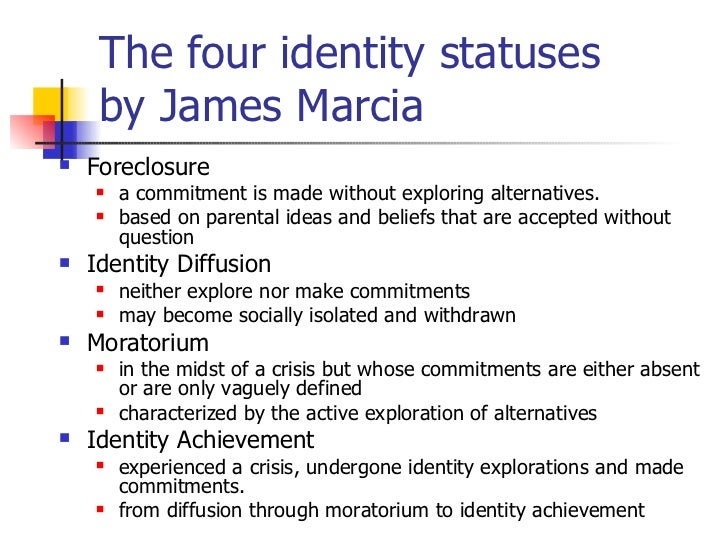 According to james marcia's definition, crisis is